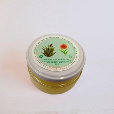 Crema Artesana de Aloe Vera, Caléndua y Manteca de Karité (Ungüento) 120ml.