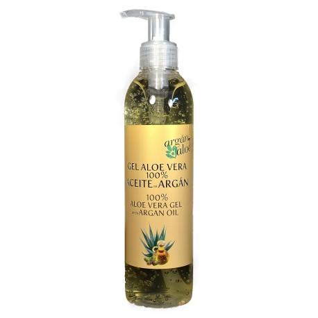 Gel Aloe Vera- Argan. 250ML