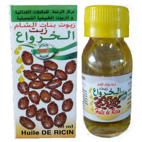 Aceite de ricino. 60ML